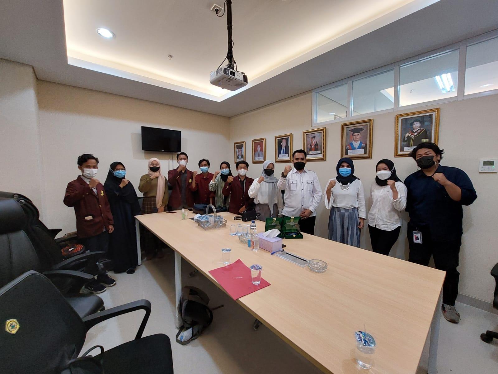 Dekan FH Untirta bertemu juara MTQ Piala Rektor Fakultas Hukum