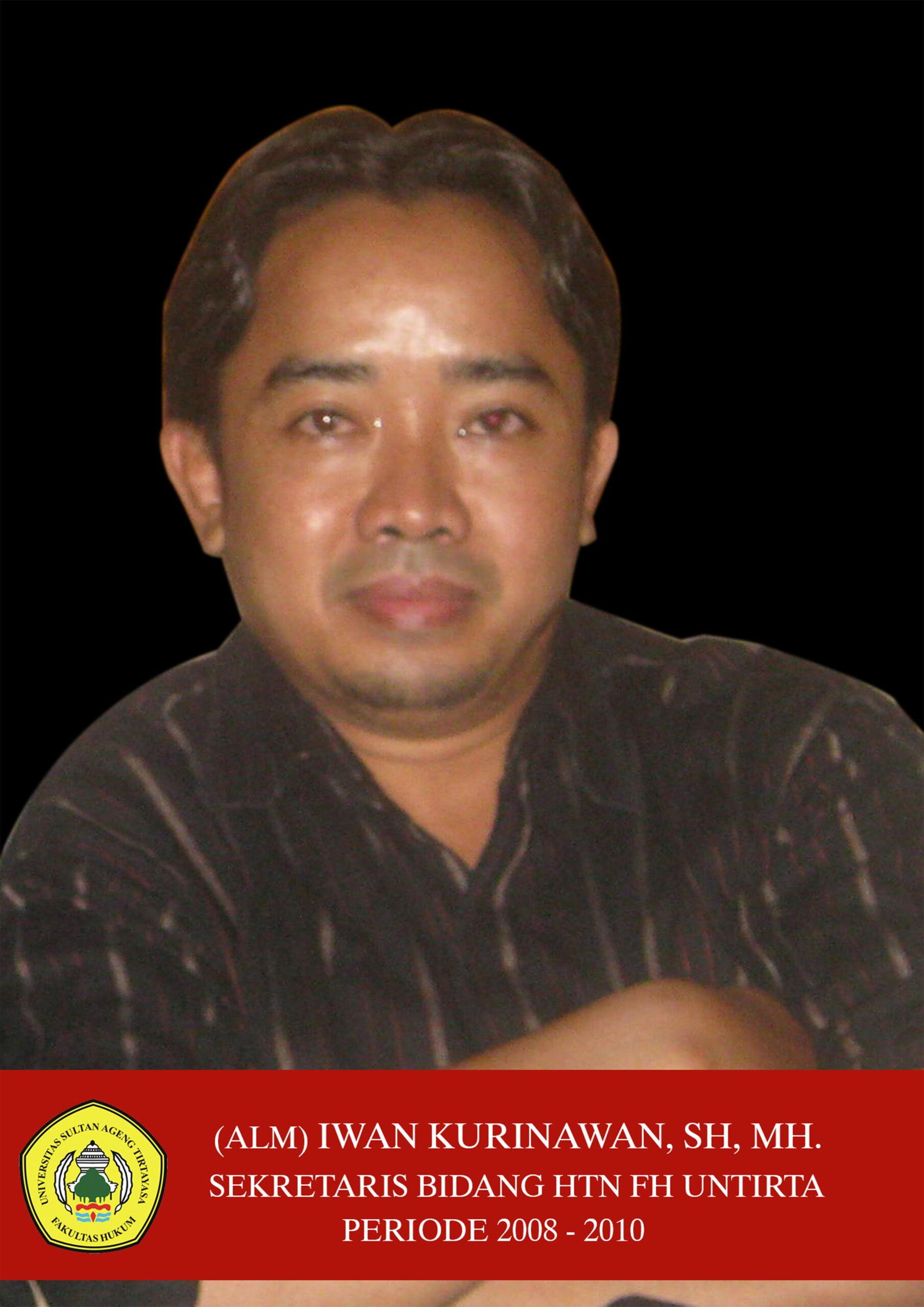 6. (Alm) Iwan Kurniawan, SH, MH