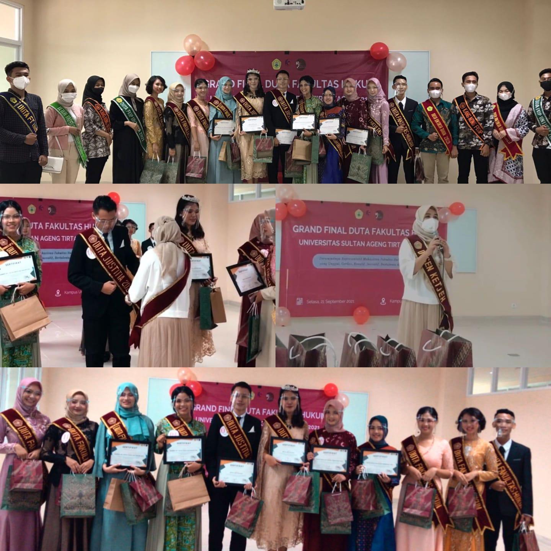 Grand Final Duta Fakultas Hukum Untirta 2021